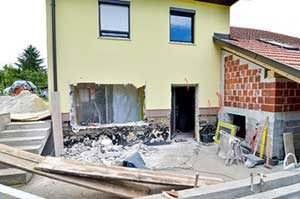 damage to house covered by FHA insured loan