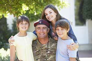 family eligible for military home loan