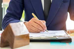 Burke, VA mortgage broker reviewing new loan application