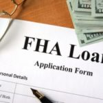 FHA loan document that will be filled out by a homeowner