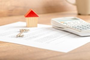 home loan agreement that will be cosigned by a first time home buyer and a mortgage broker