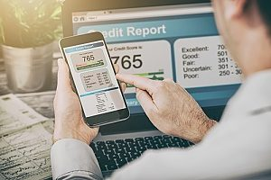 a credit score for an FHA loan
