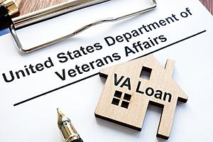 VA home loan application for veterans