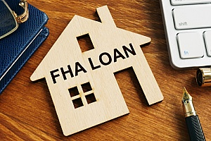 a wooden home representing FHA loans facts