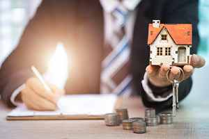 A concept for taking out a home loan