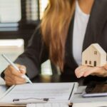 real estate brokerage contracts for sale and rent with insurance concepts